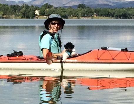 Gus Kayaking
