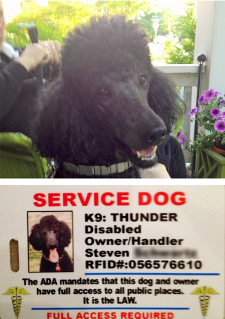 Thunder and his ID